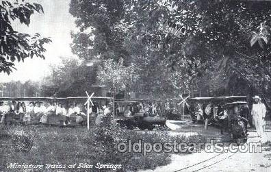 car001027 - Eden Springs Carnival Parade, Parades Postcard Post Card