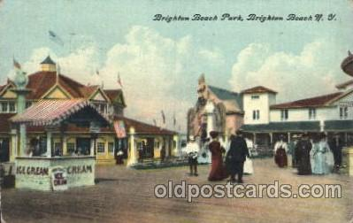 car001028 - Brighton Beach, New York, N.Y., USA Carnival Parade, Parades Postcard Post Card