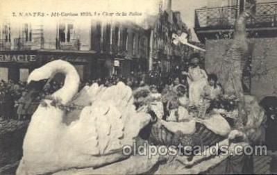 car001033 - Nantes, France Mi Careme, Carnival Parade, Parades Postcard Post Card