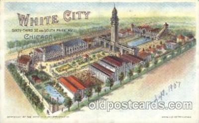 car001042 - White City, Chicago, Il, Illinois, USA Chicago Carnival Parade, Parades Postcard Post Card