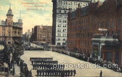 car001056 - Modern Woodman Parade, Syracuse, New York, N.Y., USA 1911 Carnival Parade, Parades Postcard Post Card