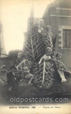 car001060 - Nante Carnival 1925, Carnival Parade, Parades Postcard Post Card