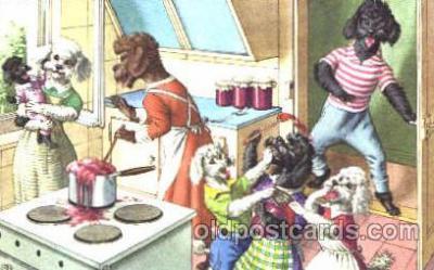 cat000173 - Artist Alfred Mainzer, Cat, Cats  Postcard Post Card