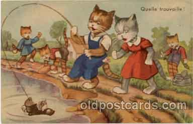cat001009 - Cat Cats Postcard Post Card