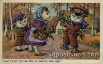 cat001111 - Cat, Cats, Postcard Post Card