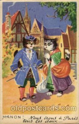 cat001125 - Cat, Cats, Postcard Post Card