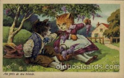 cat001139 - Cat, Cats, Postcard Post Card
