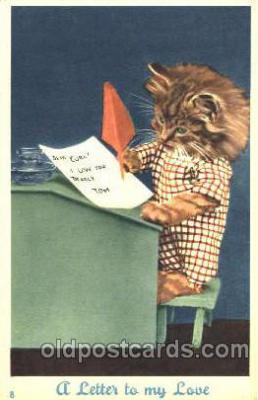 cat001203 - Cat, Cats Postcard Post Card