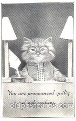 cat001211 - Cat, Cats Postcard Post Card