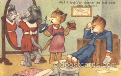 cat001218 - Cat, Cats Postcard Post Card