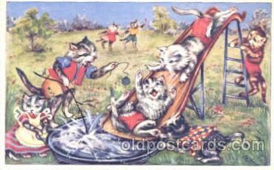 cat001230 - Cat, Cats Postcard Post Card