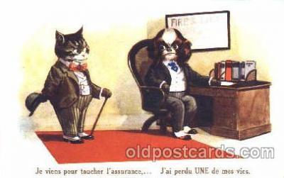 cat001232 - Cat, Cats Postcard Post Card