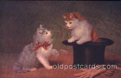 cat001262 - Artist Sperlich Cat, Cats Postcard Post Card
