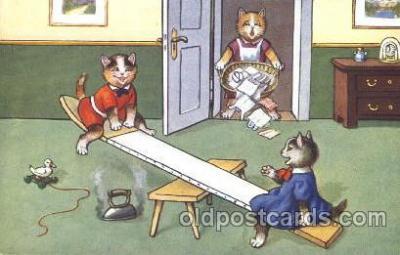 cat001323 - Cat, Cats, Postcard Post Card