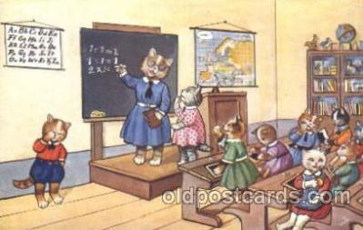 cat001324 - Cat, Cats, Postcard Post Card