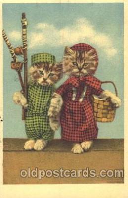 cat001332 - Cat, Cats, Postcard Post Card