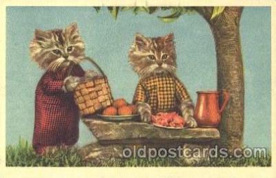 cat001342 - Cat, Cats, Postcard Post Card