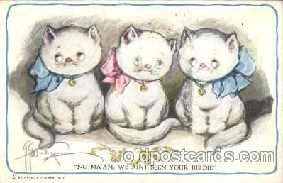 cat001343 - Cat, Cats, Postcard Post Card