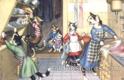 cat001346 - Cat, Cats, Postcard Post Card