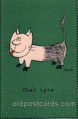 cat001453 - Cat Cats, Post Card, Post Card