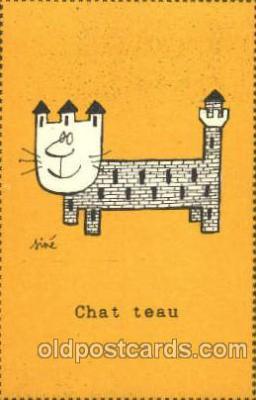 cat001505 - Cat Cats, Post Card, Post Card