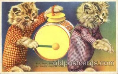 cat001509 - Cat Cats, Post Card, Post Card