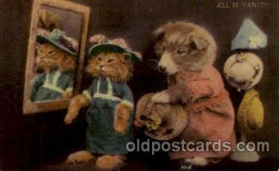 cat001572 - Cat Cats, Post Card, Post Card