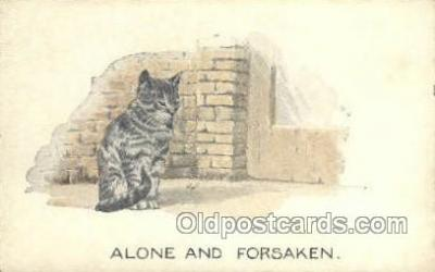 cat001706 - Cat Cats, Old Vintage Antique Postcard Post Card