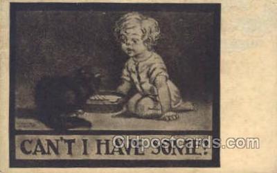 cat001709 - Cat Cats, Old Vintage Antique Postcard Post Card