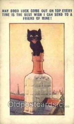 cat001749 - Cat Cats, Old Vintage Antique Postcard Post Card