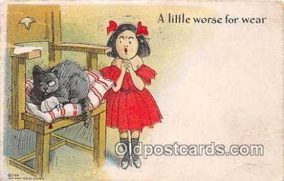 cat002004 - Postcard Post Card