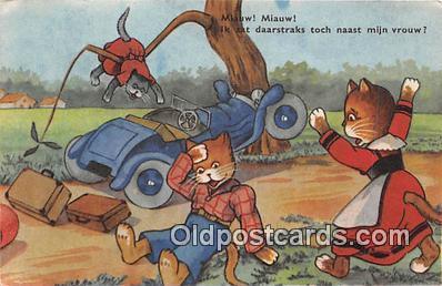 cat002007 - Postcard Post Card