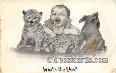 cat002032 - What's the Use V Colby 1910 Postcard Post Card