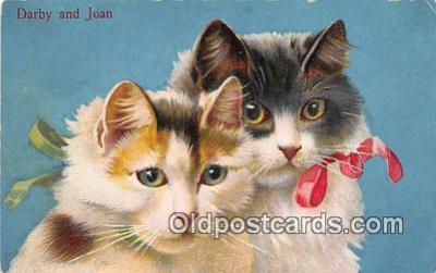 cat002041 - Darby & Joan  Postcard Post Card