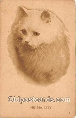 cat002074 - His Majesty  Postcard Post Card