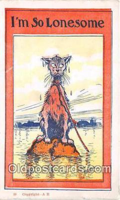 cat002083 - AH Postcard Post Card