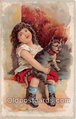 cat002085 - non postcard backing  Postcard Post Card