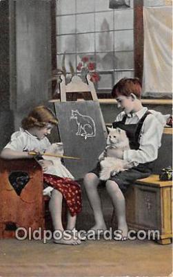 cat002086 - Postcard Post Card