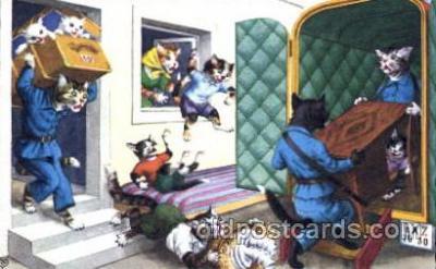 cat060 - Artist Alfred Mainzer Postcard Post Card