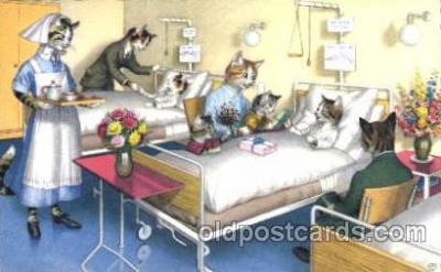 cat111 - Artist Alfred Mainzer Postcard Post Card