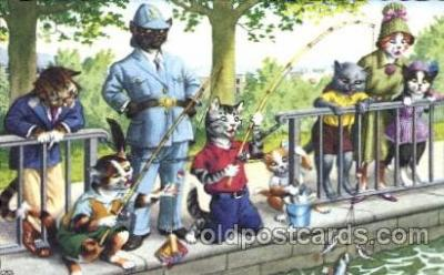 cat113 - Artist Alfred Mainzer Postcard Post Card