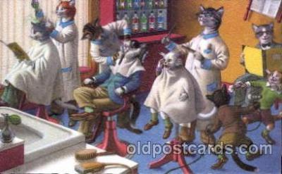 cat148 - Artist Alfred Mainzer Postcard Post Card