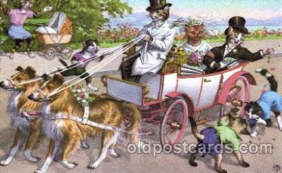 cat165 - Artist Alfred Mainzer Postcard Post Card