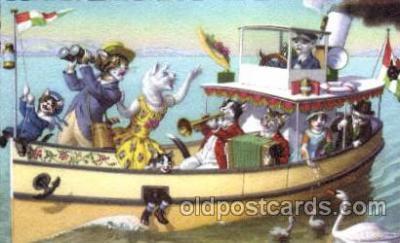 cat178 - Artist Alfred Mainzer Postcard Post Card