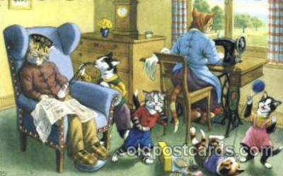 cat226 - Artist Alfred Mainzer Postcard Post Card