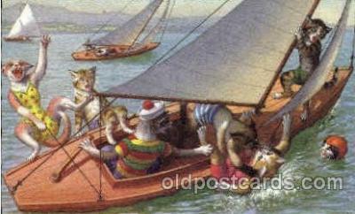 cat237 - Artist Alfred Mainzer Postcard Post Card