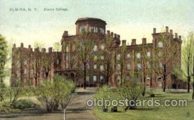 cau001013 - Elmira, New York, USA  Old Vintage Antique Post Card Post Card