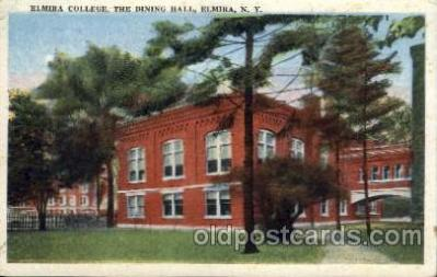 cau001016 - Elmira, New York USA Dining Hall Old Vintage Antique Post Card Post Card