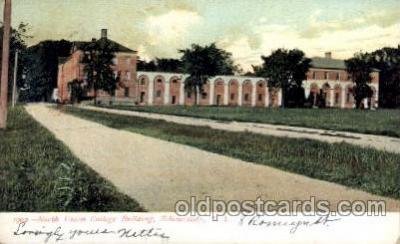 cau001032 - North Union, Shenectady, NY USA Old Vintage Antique Post Card Post Card