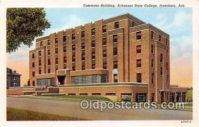 Commons Building, Arkansas State College